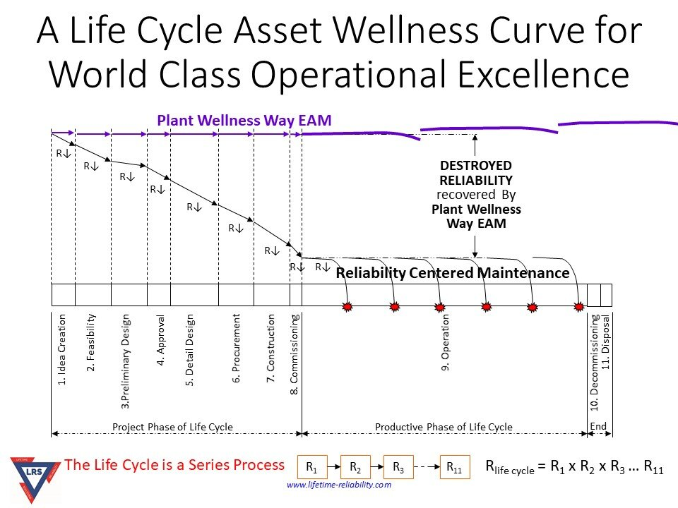 Life Cycle Asset Wellness Curve for Operational Excellence